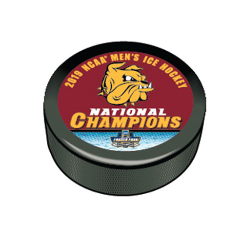 Image For 2019 NCAA Hockey National Champions Puck by WinCraft