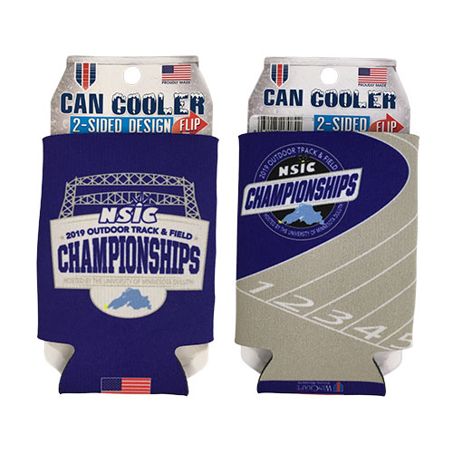 Image For NSIC 2019 Outdoor Track & Field Championships Can Cooler