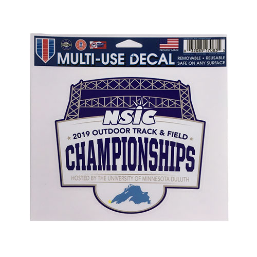 Image For NSIC 2019 Outdoor Track & Field Championships Decal 5x5
