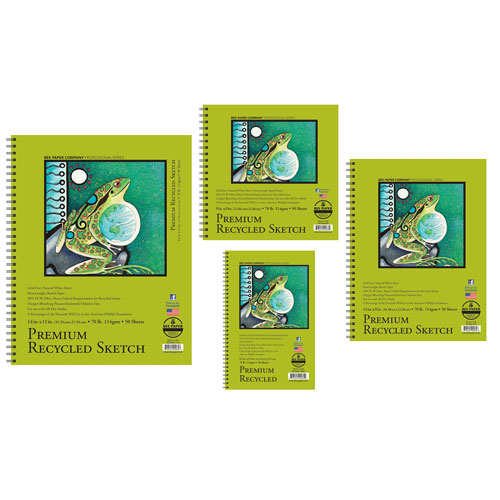 Image For Bee Paper Company Premium Recycled Sketch Paper- Multi Sizes