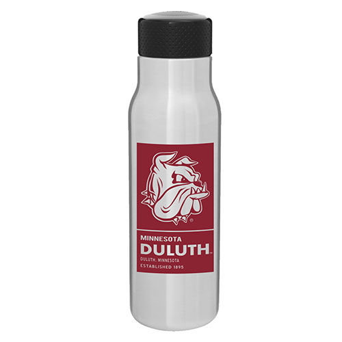 Image For Minnesota Duluth Bulldog Head h2go Water Bottle