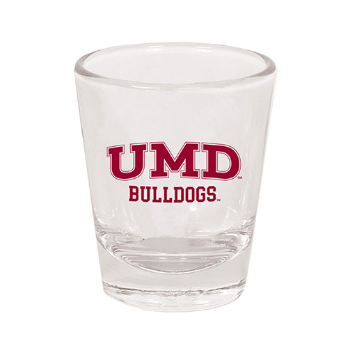 Image For UMD Bulldogs Shot Glass by Spirit