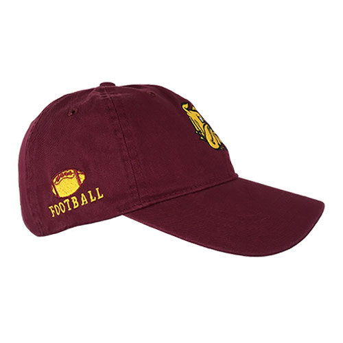 Cover Image For Football Bulldogs Adjustable Cap by The Game