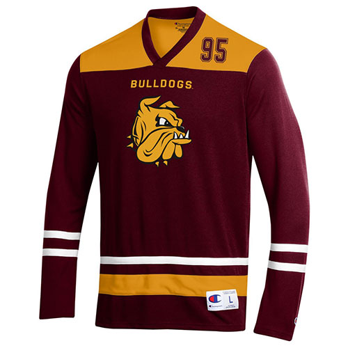 Image For Bulldogs Bulldog Head 95 Jersey Top by Champion