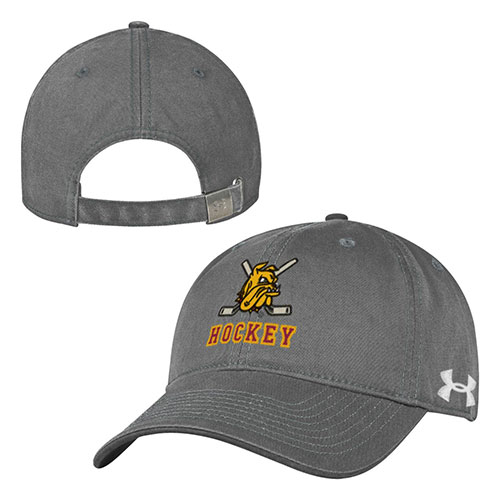 Image For Bulldog Head Hockey Sticks Adjustable Cap by Under Armour