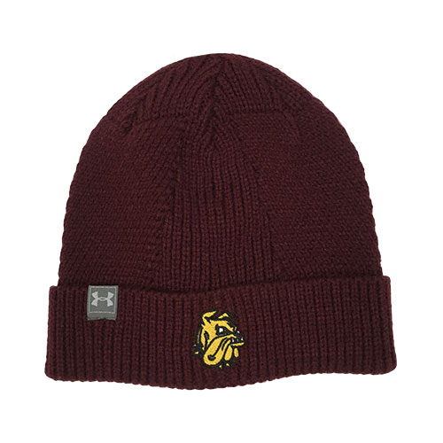 Image For Bulldog Head Cuffed Beanie by Under Armour