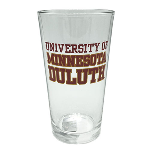 Image For University of Minnesota Duluth Pint Glass by RFSJ