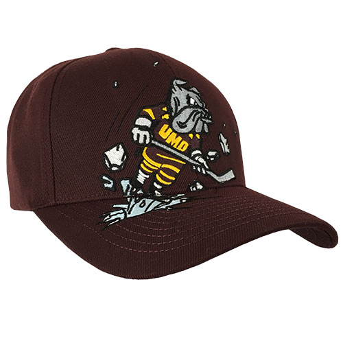 Image For Adult/Youth Skating Bulldog Adjustable Cap by Zephyr