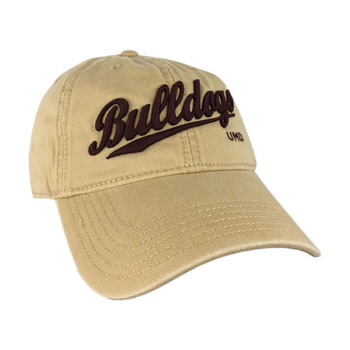 Image For Bulldogs Script UMD Adjustable Cap by Legacy