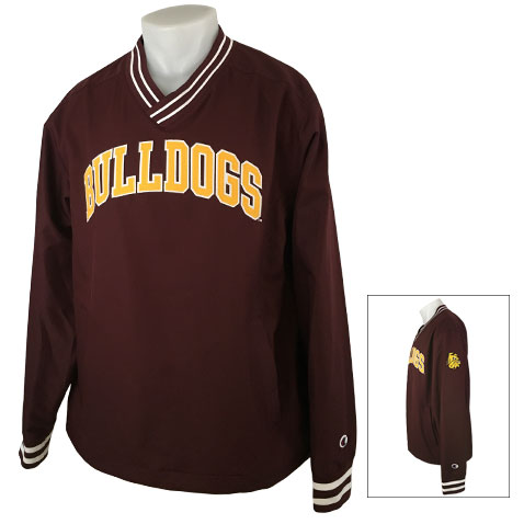 Image For Bulldogs V-Neck Jacket by Champion
