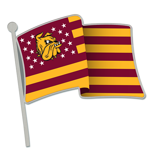 Image For UMD Military Appreciation Lapel Flag Pin