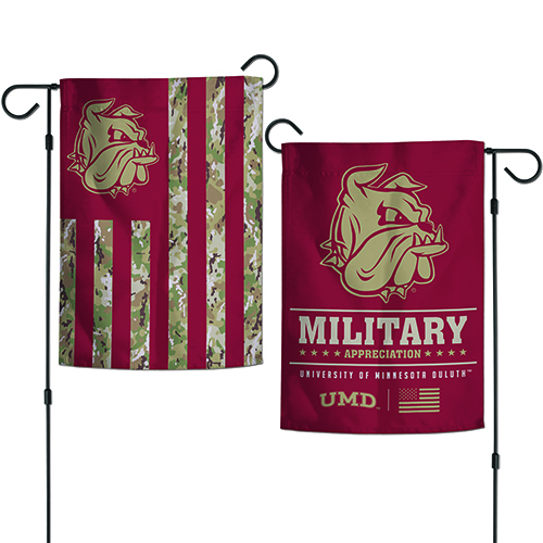 Image For UMD Military Appreciation Garden Flag