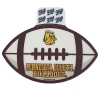 "Minnesota Duluth Football 4"" Vinyl Sticker Decal by Blue 84 Image"