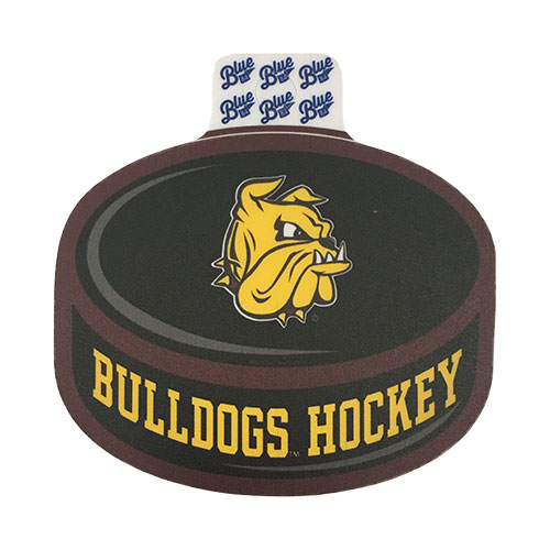 "Image For Bulldogs Hockey Puck Vinyl Sticker Decal 3"" by Blue 84"