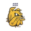 """Cover Image for Go Bulldogs Minnesota 4"""" Vinyl Sticker Decal by Blue 84"""