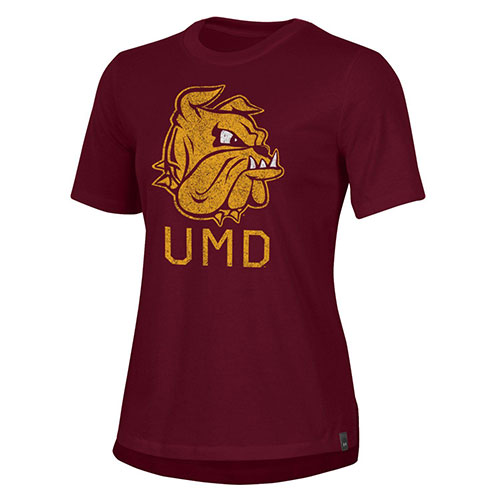 Image For Women's Bulldog Head UMD Performance Cotton Tee by UA