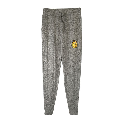Image For Women's Bulldog Head Joggers by Boxercraft