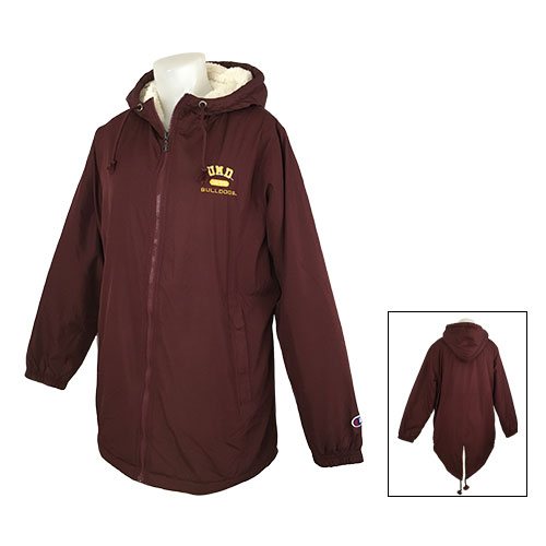 Image For Women's UMD 1895 Bulldogs Sherpa- Lined Jacket by Champion