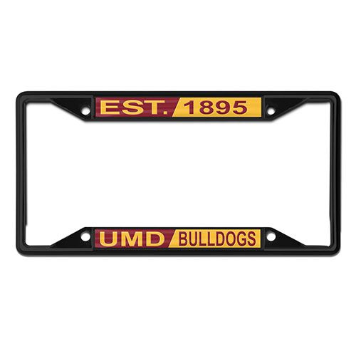 Image For UMD Bulldogs Est. 1895 License Plate Frame