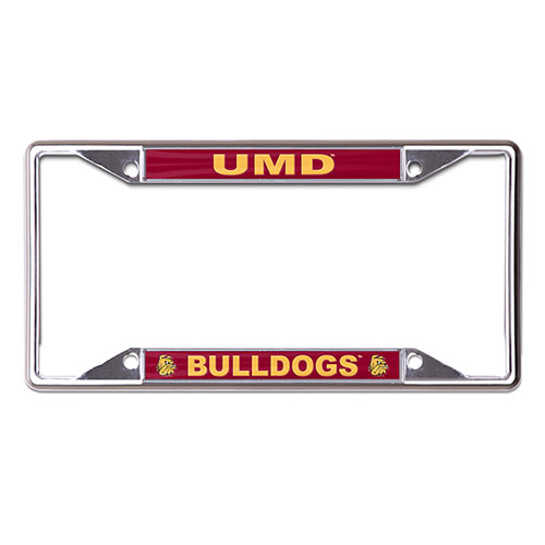 Image For UMD Bulldogs Bulldog Head License Plate Frame