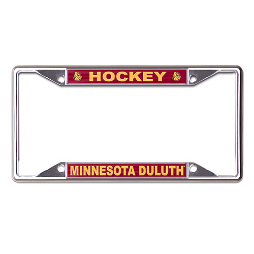 Image For Minnesota Duluth Hockey License Plate Frame