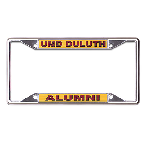 Image For UMD Duluth Alumni License Plate Frame