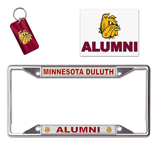 Image For Minnesota Duluth Alumni License Plate Frame Combo