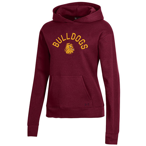 Image For Women's Bulldogs Fleece Hood by Under Armour
