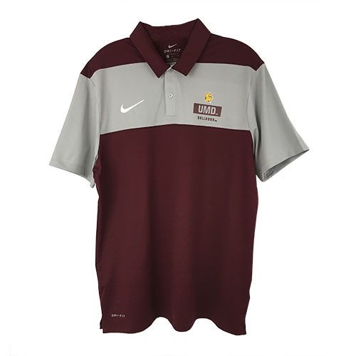 Image For UMD Bulldogs Dri-FIT Color Block Polo by Nike