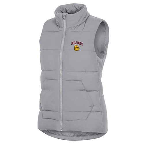 Image For *Women's Bulldogs Full Zip Vest by Champion