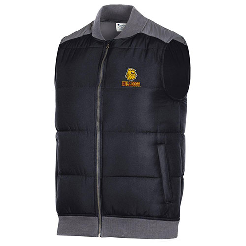 Image For *Bulldog Head Full Zip Vest by Champion