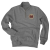 *UMD Sanded Fleece 1/4 Zip Top by Blue 84 Image