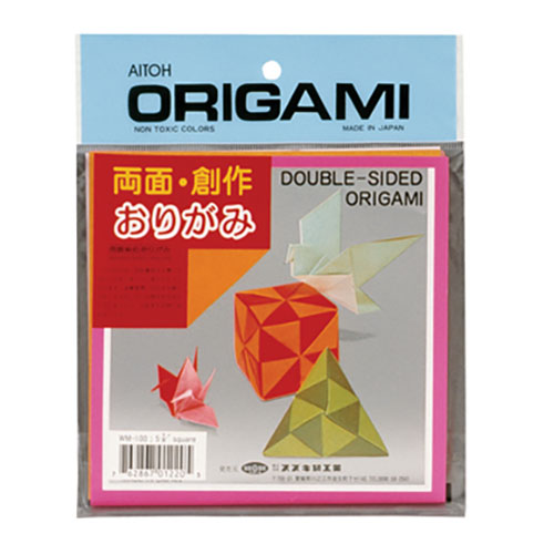 Image For Double-Sided Origami Paper Pack of 36 by Aitoh