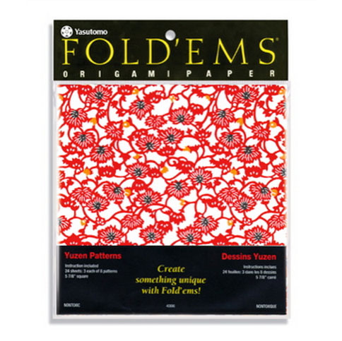 Image For Fold'Ems Yuzen Origami Paper by Yasutomo