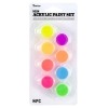 Cover Image for Pastel Acrylic 8 Paint Pot Set by Darice