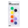 Cover Image for Neon Acrylic 8 Paint Pot Set by Darice