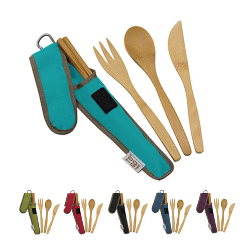 Image For Bamboo Utensil Set by To Go Ware