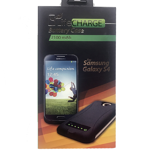 Image For LifeCharge Battery Case for Samsung Galaxy S4