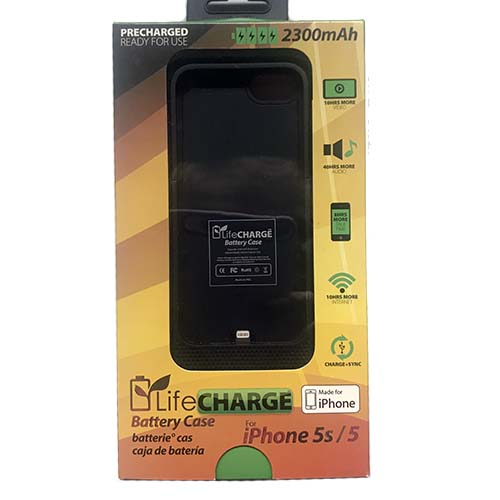 Image For LifeCharge Battery Case for iPhone 5/5s