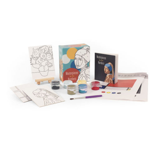 Image For Masterpieces by the Numbers Kit from Running Press
