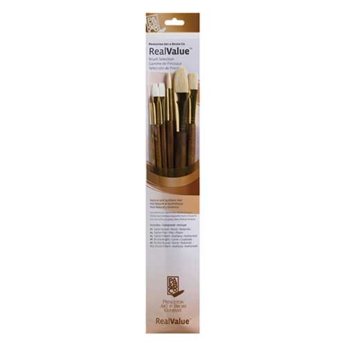Image For Bristle Long Handled Brush Set by Princeton - 9148