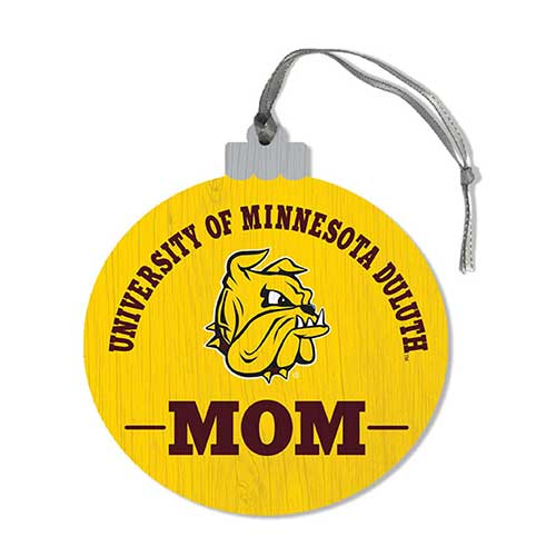 Image For *University of Minnesota Duluth Mom Wood Ornament by Legacy