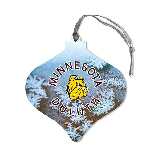 Image For *Minnesota Duluth Snowflake Bulb Wood Ornament by Legacy