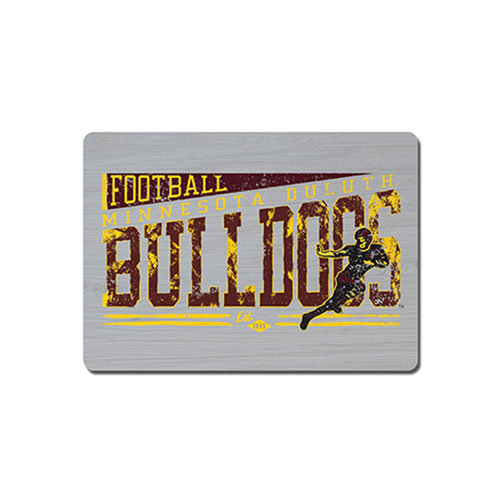 Image For *Bulldogs Football Wood Magnet 2.5x3.5 by Legacy