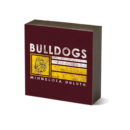 Image For *Bulldogs Minnesota Duluth Square Block 3.5x3.5 by Legacy