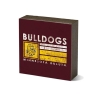 Cover Image for *Duluth Bulldogs Script Tabletop Square 5.5x5.5 by Legacy
