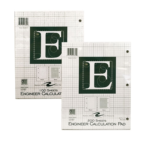 Image For Engineer Calculation Pad by Roaring Spring