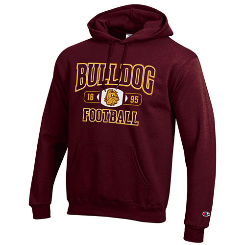 Image For *Bulldogs Football 1895 Hood by Champion