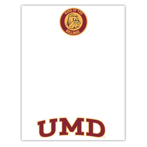 Image For *Home of the Bulldogs UMD Magnet Erase Board by R&R