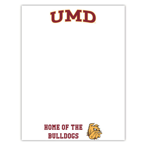 Image For *UMD Home of the Bulldogs Magnet Erase Board by R&R